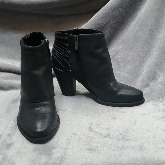 Black Leather Ankle Boots | Poshmark